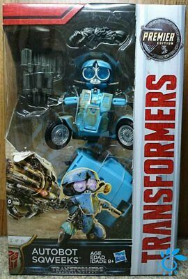 Hasbro Transformers MV5 The Last Knight Deluxe class Sqweeks Action Figure