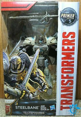 Hasbro Transformers MV5 The Last Knight Deluxe class Steelbane Action Figure