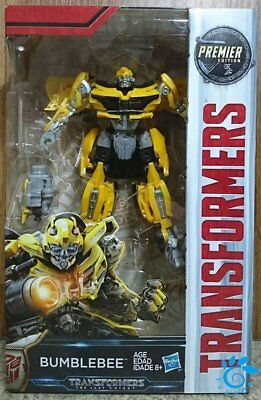 Hasbro Transformers MV5 The Last Knight Deluxe class Bumblebee Action Figure