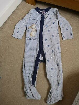 *** 12-18  Guess How Much I Love You Baby Boy Sleepsuit ***