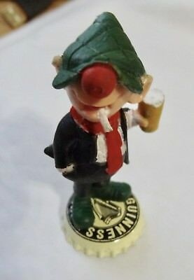 Vintage Andy Capp  Figure GUINESS  Schleich very rare standing on a GUINESS TOP