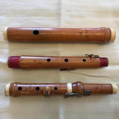 4 Keyed Boxwood Flute, Preston, London, from Ca. 1820s