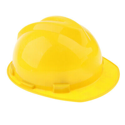 12-Inch Hard Hat Forestry Safety Helmet Work Protective Plastic Cap- Yellow