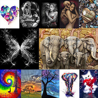 5D Diamond Painting Embroidery DIY Full Drill Diamant Kreuzstich Stickerei Bild