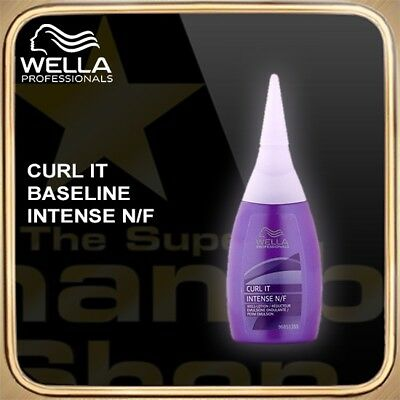 Wella Curl It Baseline Intense N/F 75ml SCHAMBOO Bonus-Packs zur Auswahl