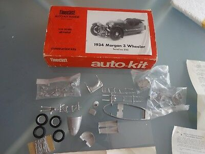 Wills Finecast 1/24 Scale Auto-Kit Metal Model Car 1934 Morgan 3 Wheeler