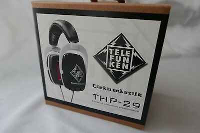 Telefunken THP-29 Extreme Isolation stereo headphone set