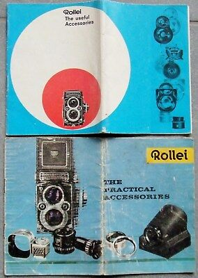 Rolleiflex & Rolleicord. The Useful Accessories  1965 +  1960