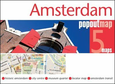 Amsterdam PopOut Map by PopOut Maps 9781910218327 (Sheet map, folded, 2017)