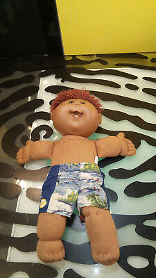 Cabbage Patch Kids 2 Dolls & 1 Horse Decent  - Brown Eyed Boy & Blue Eyed Baby