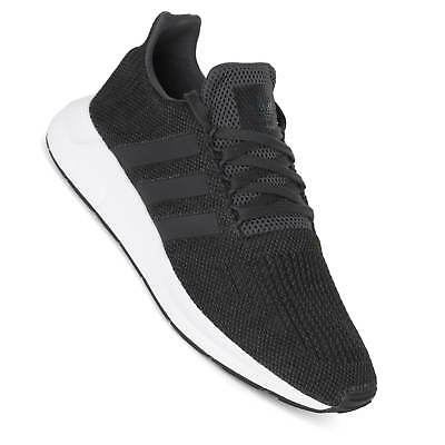 d19ed1bd1539e ADIDAS CQ2114 MEN Swift Run Running shoes black grey sneakers ...