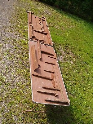 Used Bench Plate and Sheet Metal Stakes - 15 pieces: Bench Plate plus 14 stakes