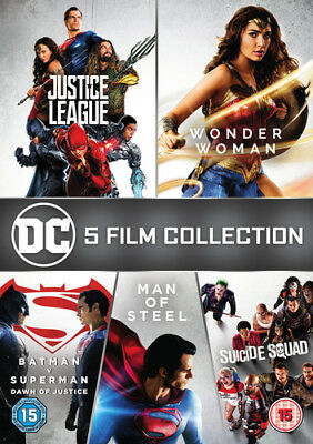 DC 5-film Collection DVD (2018) Henry Cavill ***NEW***