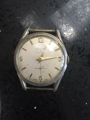 Allenby Watch No Strap For Spares Or Repair Used Needs Attention