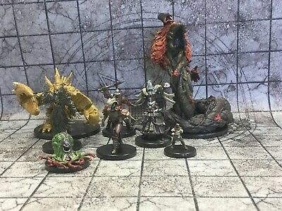 Pathfinder Battles Maze of Death Lot of 8a Miniatures for D&D