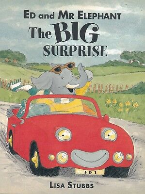 Ed And Mr Elephant - The Big Surprise By Lisa Stubbs - New Children's Book