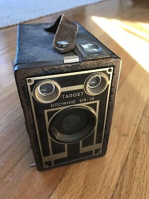 Kodak Brownie Target Six-16 Box Camera Art Deco Style