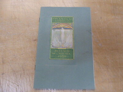Pan American Exposition Brochure -   Buffalo, NY  1901-  embossed covers  -