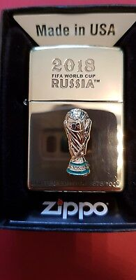 Zippo FIFA WORLD CUP 2018 RUSSIA Limited EDITION 0575/1000