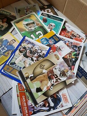 NFL American Football Trading Cards Job Job Over 1000k Cards Plus Extra