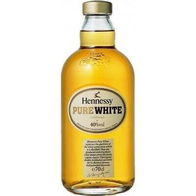 Hennessy Pure White Cognac SEALED 100% AUTHENTIC ( NOT Empty )