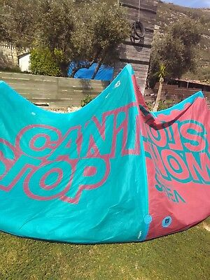 North vegas kitesurfing kite 12m with bar and lines complete