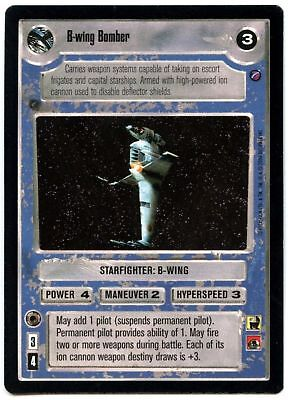 REFLECTIONS II star wars ccg swccg Near Mint B-wing Attack Squadron FOIL
