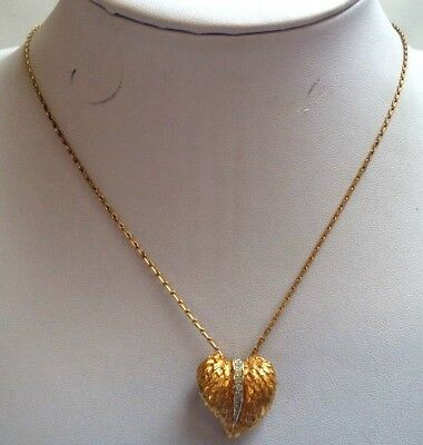 "Stunning Vintage Estate Signed Panetta Multi Tone 17 7/8"" Necklace!!! 5030Z"