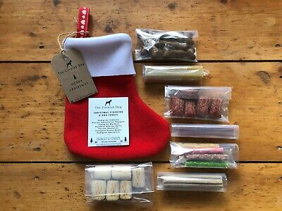 Christmas Gift Stocking For Dogs | Natural Dog Treats | Handmade in UK