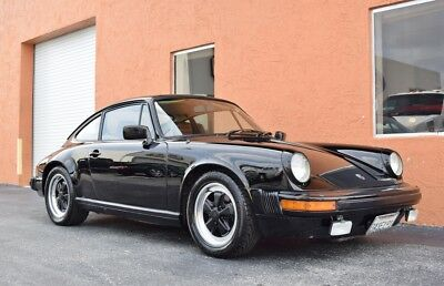 1983 Porsche 911 930 Super Carrera 1 Owner California Car Desirable Color Combo Excellent Driver Cognac Interior