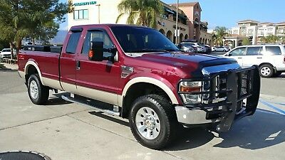 2008 Ford F-350 LARIAT (BULLET-PROOFED) 2008 FORD f-350 LARIAT SUPER DUTY 4X4