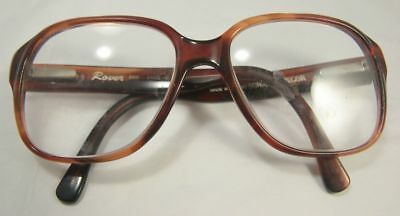 Vintage Norman Gregor Rover Glasses R808 54x23 C1 Brown Spectacles