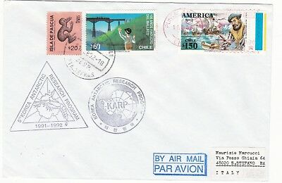 South Korea .- antarctic cover from 5° expedition 1991-92