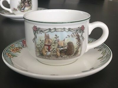 Villeroy & Boch Foxwood Tales Cup and Saucer