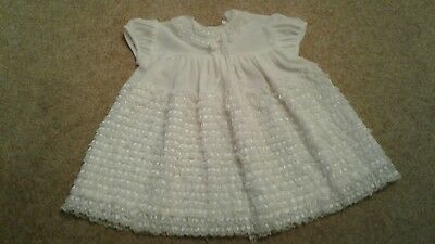 Vintage 70s.Baby Dress To Fit 12-18mths..or Large Doll