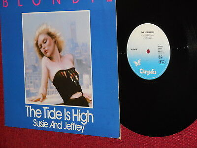 "Blondie ""The Tide Is High"" ""Susie And Jeffrey"" Maxi Single 1980 Chrysalis 600291"