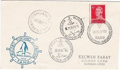 Argentina - antarctic cover fron Melchior/Deception stations 1959