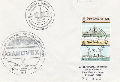 Germany - antarctic cover from GANOVEX Expedition 1988-89
