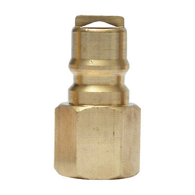 "Propane / Natural Gas Quick Disconnect Connect Post Brass 3/8"" Male Fitting"