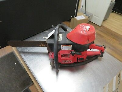 Ics 613Gc Gas Chainsaw Concrete Used