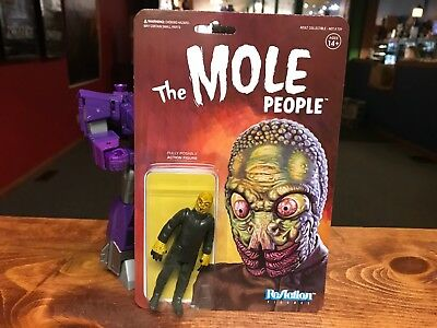 "2018 Super7 Universal Monsters THE MOLE PEOPLE Horror Movie 4"" Figure MOC"