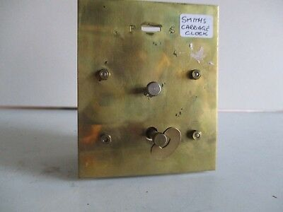 SMITHS CARRIAGE CLOCK MOVEMENT PLATFORM ESCAPEMENT 1950s