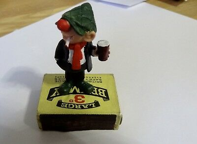Vintage Andy Capp  Figure  Schleich very rare standing on BRYMAY MATCHES 3d