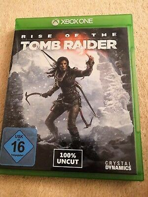 Rise Of The Tomb Raider (Microsoft Xbox One, 2015, DVD-Box)