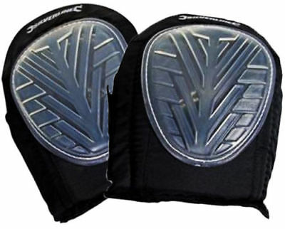 Set of 2 GEL KNEE PADS Caps Cups Straps Pro Industrial Heavy Duty Pair U90