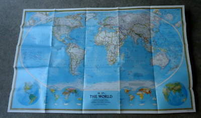 1988 National Geographic Map Of The World #5