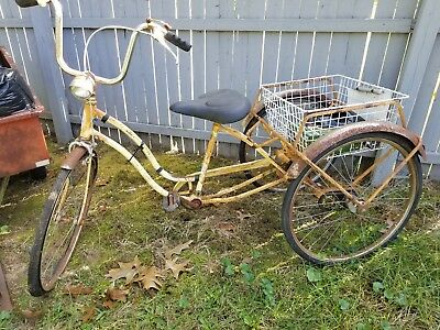 VINTAGE Schwinn Tri-Wheel Town & Country Bicycle 3 Speed 1969 SHIPPING AVAILABLE