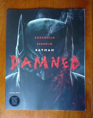 Batman Damned #1 - 1st Printing Uncensored - DC Black Label - NM+ Priority Mail
