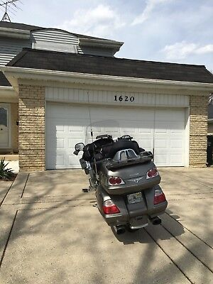 2006 Honda Gold Wing  2006 gl1800 goldwing, 2015 Dodge Ram 1500, Ultimate Motorcycle Trailer