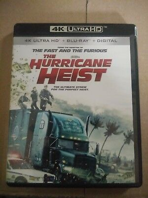 The Hurricane Heist(4K Ultra Hd Disc Only!No Bluray Or Digital)Free Shipping!!